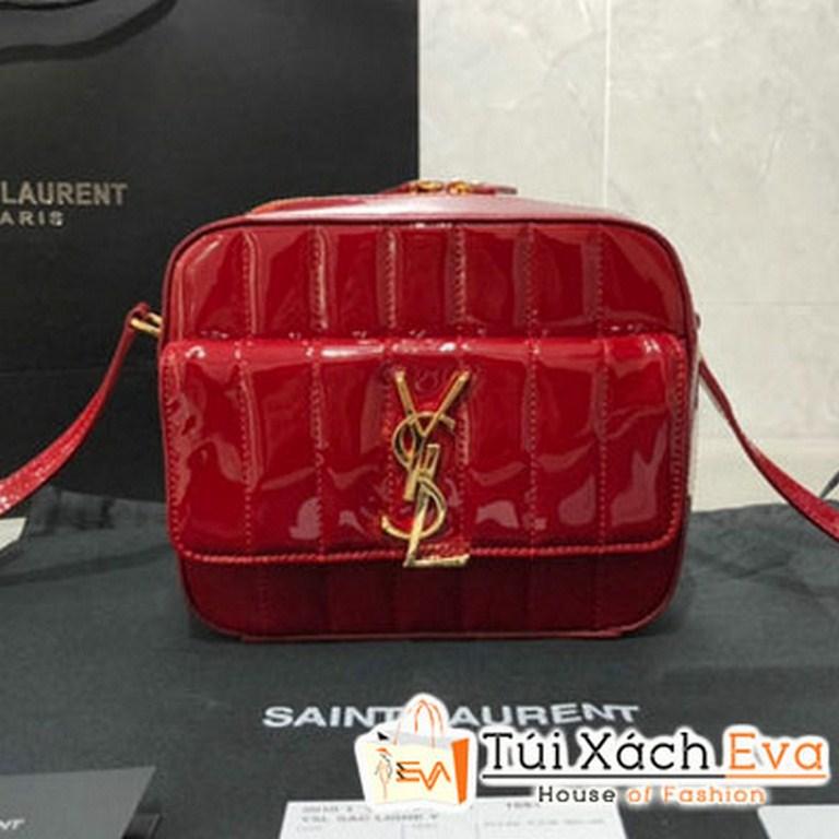 Túi Xách YSL Vicky Camera Bag Siêu Cấp Màu Đỏ 55505202