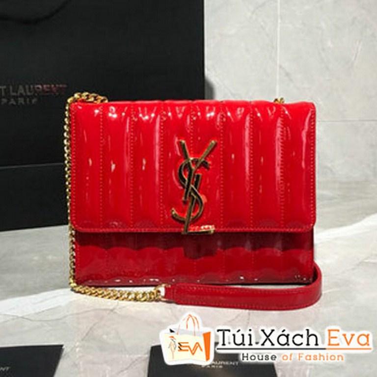 Túi Xách Ysl Vicky Chain Wallet Siêu Cấp  Màu Đỏ 554125
