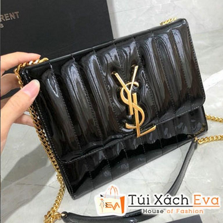 Túi Xách YSL Vicky Chain Wallet Siêu Cấp Patent  554125