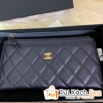 Ví Chanel Dài Siêu Vip Màu Tím