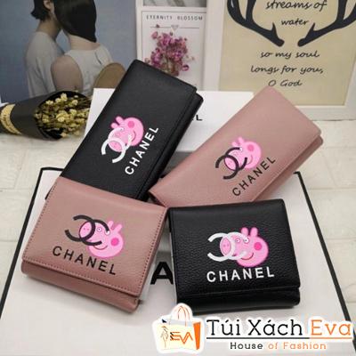 Ví Chanel Super Màu Hồng