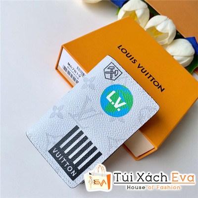 Ví Lv Pocket Organize Wallet Siêu Cấp Hoa Trắng M67818