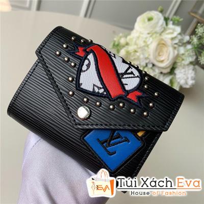 Ví Lv Victorine Wallet Siêu Cấp Tăm Đen M63325