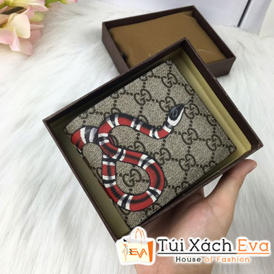 Ví Nam Gucci Super Đầu Rắn Đẹp